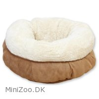 AFP Lambswool - Donut bed Brun