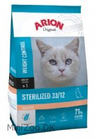 ARION Original Sterilized Salmon 33/12 Kattemad 7,5 kg