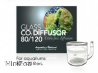 Aquatic Nature Glas diffusor til CO2 80/120 L