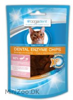 Bogadent DENTAL ENZYME Chips fisk kat 50 g