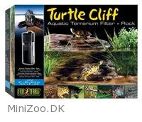 Exo Terra Turtle Cliff med filter stor