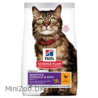 Feline Adult Sensitive Skin Chicken 1,5 kg