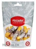 Ficcaro hundesnack Sweet potato and pollock twister