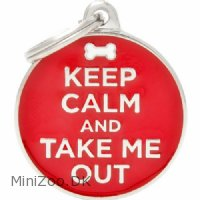 Hundetegn My family Keep Calm and Take me Out