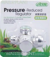 Ista Aluminum CO2 Flow Regulator FACE-SIDE