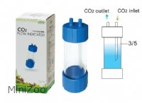 Ista CO2 Bubble counter blå