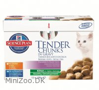 Kitten Chunks in Gravy Multipack 12 x 85 g
