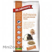 Mr Johnson Advance Rotte- og Musefoder 750 g