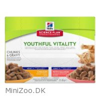 Science Plan Youthful Vitality Feline Adult Multipack 12 x 85 g pouch