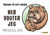 Waggy Her vogter Jeg Bulldog