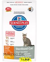 Feline Young Adult Sterilised Cat Chicken 8 kg