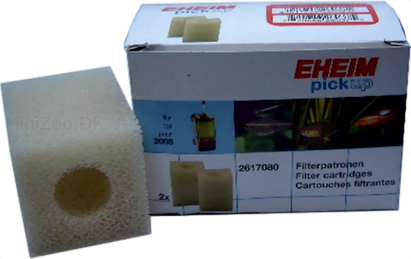 eheim filtersvampe 2 stk 2617080 pickup 60 1 p lager k b nu kun 96 50 dkk. Black Bedroom Furniture Sets. Home Design Ideas