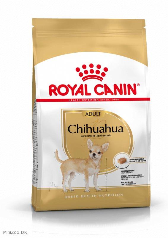 royal canin chihuahua 28 adult 3 kg 3 p lager k b nu kun 279 00 dkk. Black Bedroom Furniture Sets. Home Design Ideas