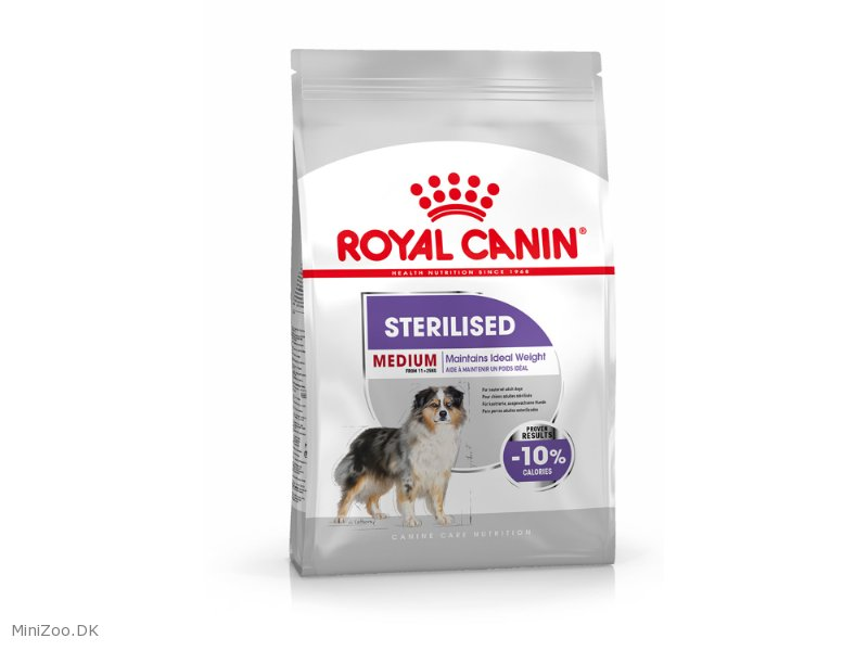 royal canin medium sterilised adult 12 kg k b nu kun 569 00 dkk. Black Bedroom Furniture Sets. Home Design Ideas