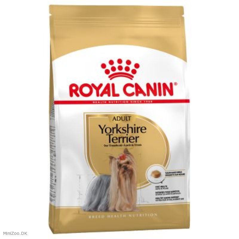 royal canin yorkshire terrier 28 adult 1 5 kg 3 p lager k b nu kun 159 00 dkk. Black Bedroom Furniture Sets. Home Design Ideas